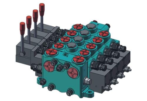 503045 JSM20抗饱和流量负荷敏感多路换向阀