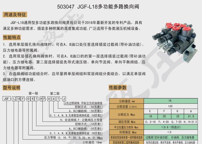LGF-L18多功能多路千赢国际app